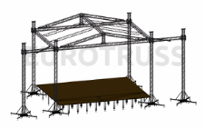 Eurotruss FD34 Roof 8x6m